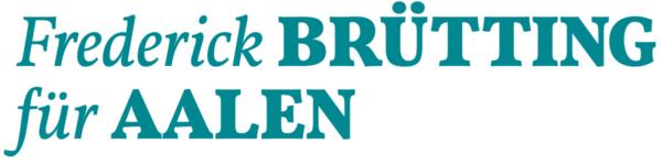 Logo: Frederick Brütting Aalen